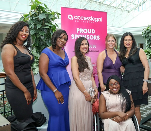 Birmingham Black Lawyers in the summer ball