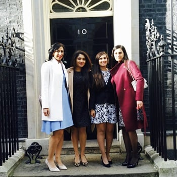 Shoosmiths and Sepsis Trust at No. 10 Downing Street