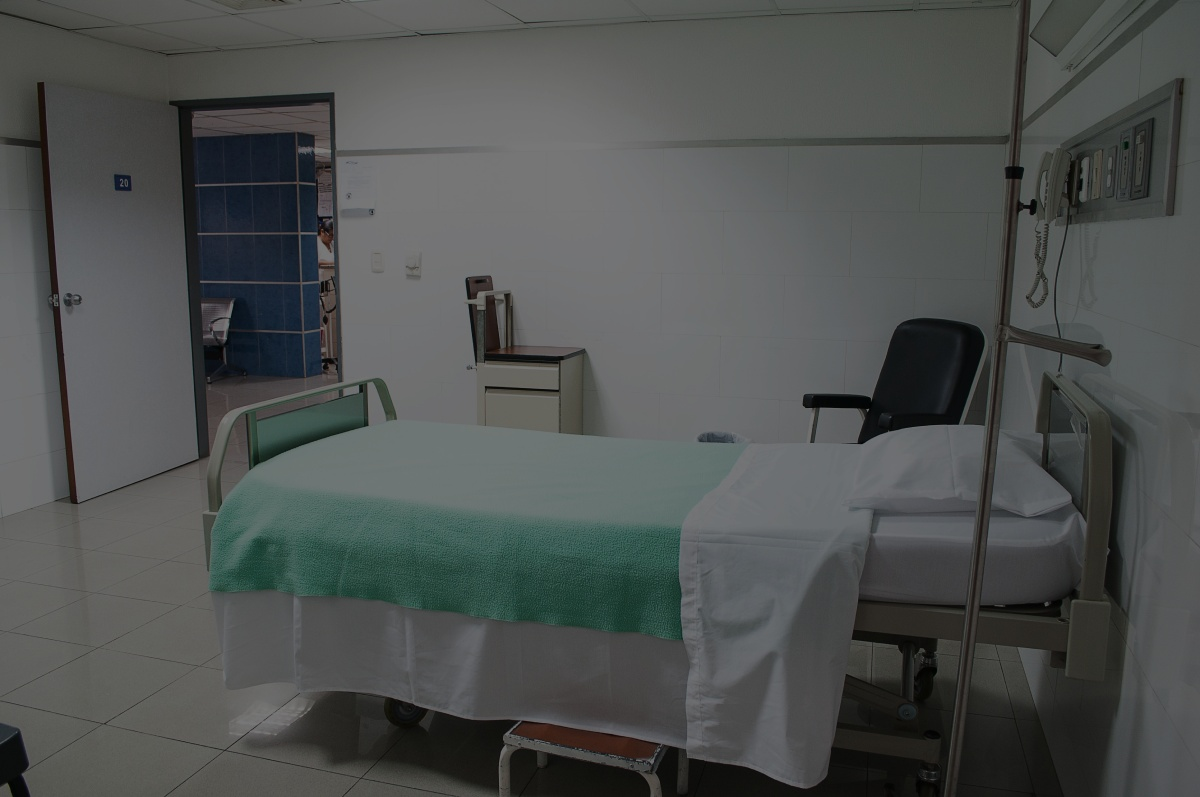 Empty hospital bed due to nursing error medical negligence