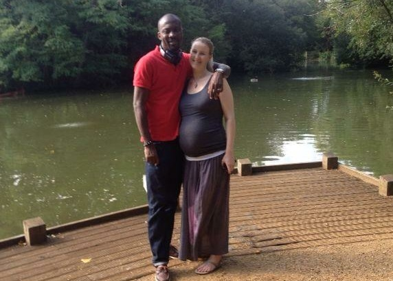 couple where lady is pregnant