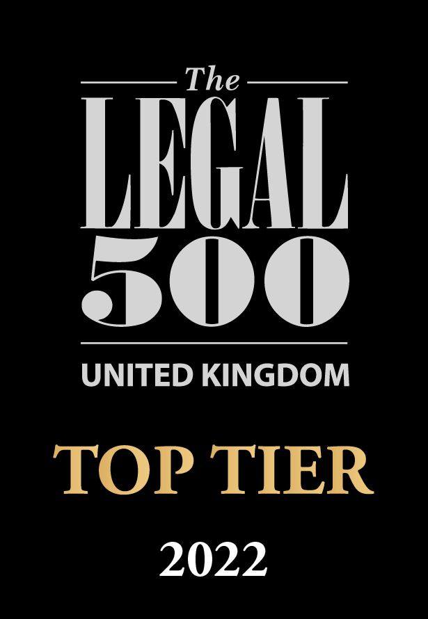 Legal 500 award logo